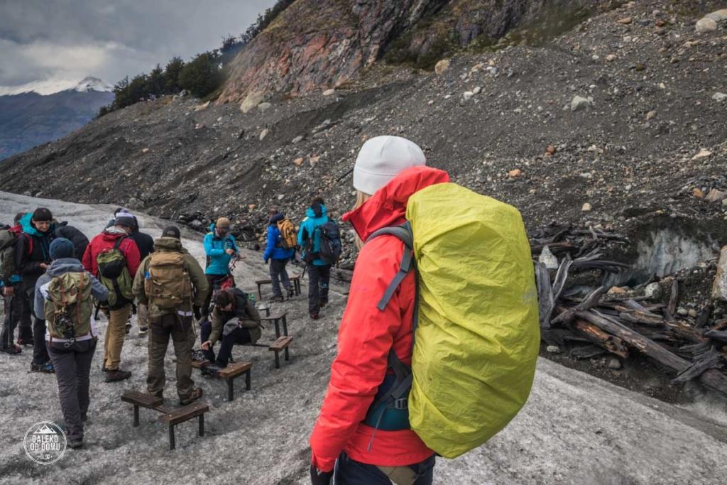 argentyna lodowiec perito moreno trekking big ice zakladanie rakow