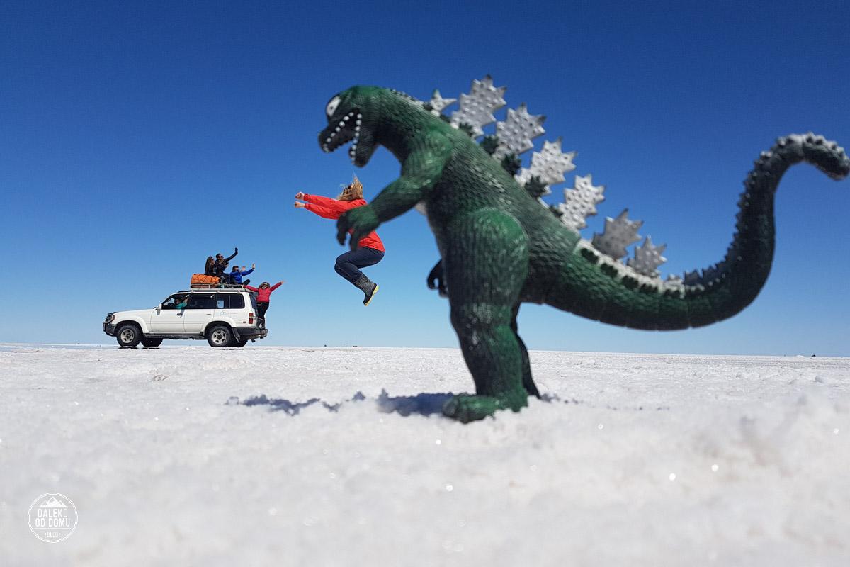 boliwia salar de uyuni dinozaur pustynia solna world white travel