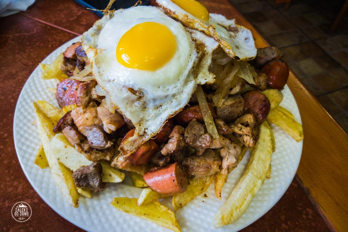 chile puerto natales patagonia food jedzenie obiad