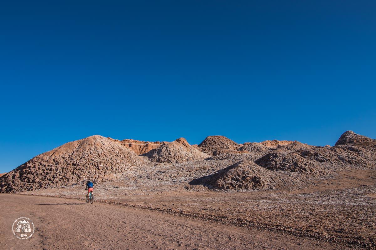 chile valle de la luna pustynia atacama rowery