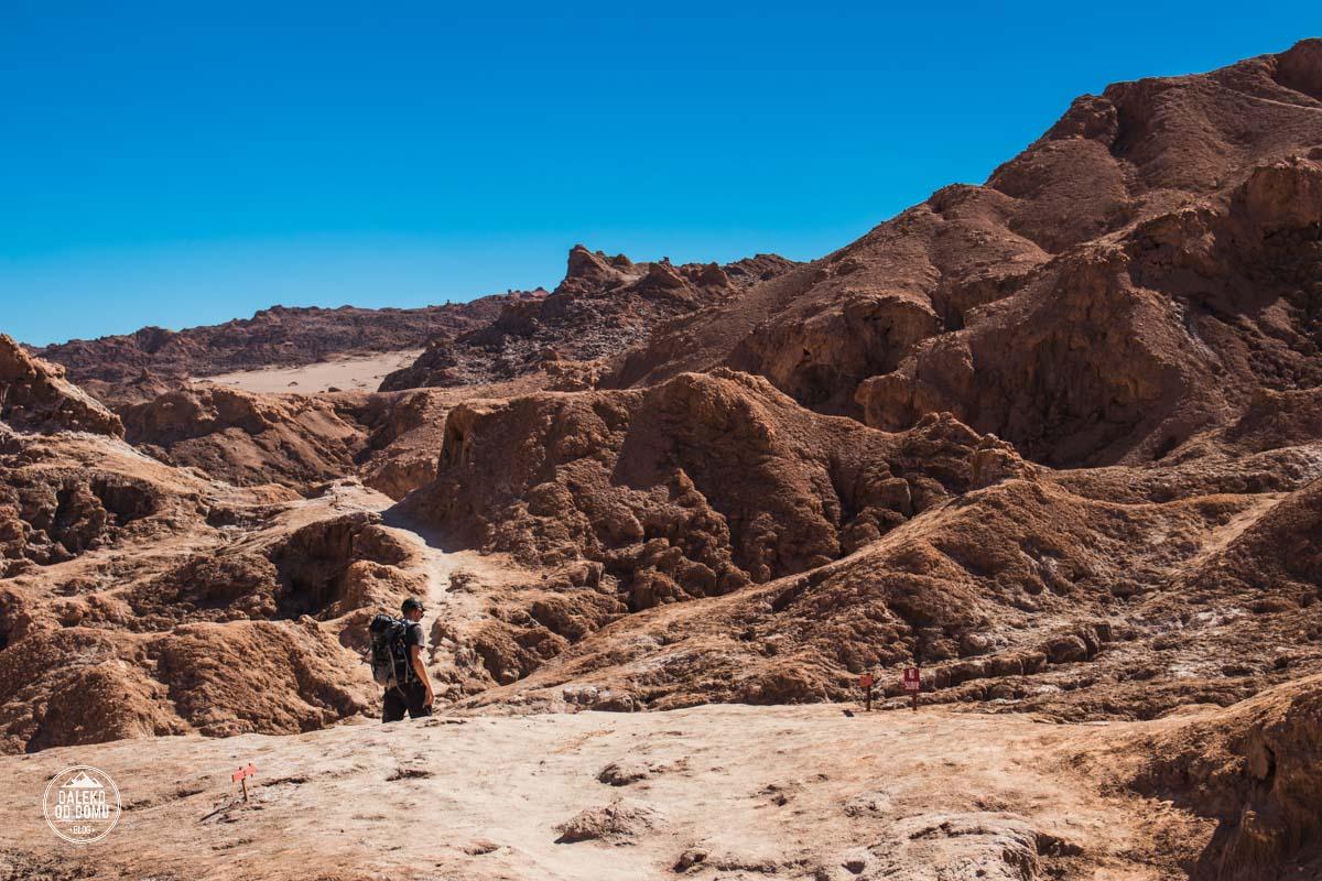 chile valle de la luna pustynia atacama trekking