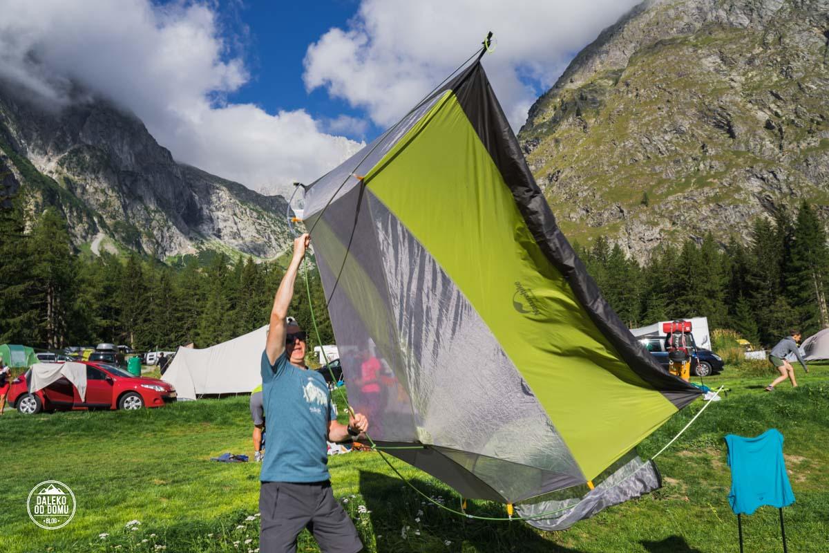 tour du mont blanc trekking tmb 2018 camping de glaciers szwajcaria