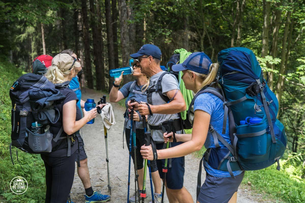 tour du mont blanc trekking tmb 2018 dzień 1