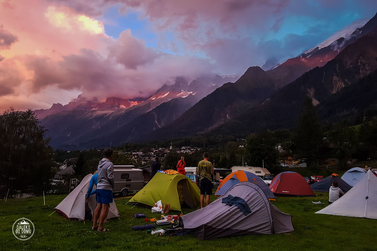 tour du mont blanc trekking tmb 2018 kemping les houches