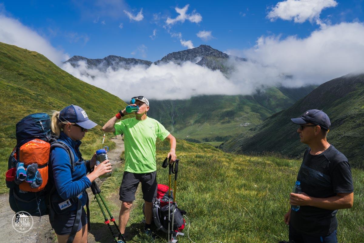 tour du mont blanc trekking tmb 2018 odpoczynek