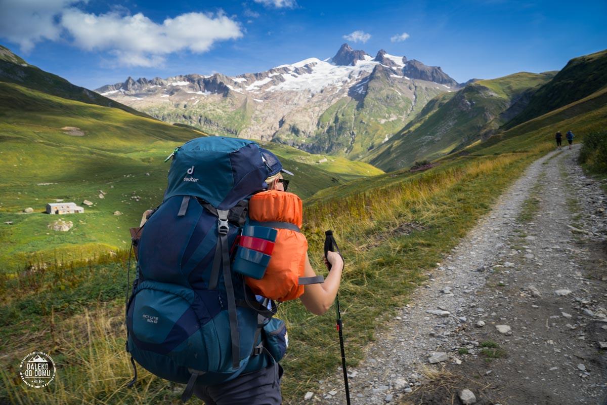 tour du mont blanc trekking tmb 2018 plecak deuter act lite 50 + 10