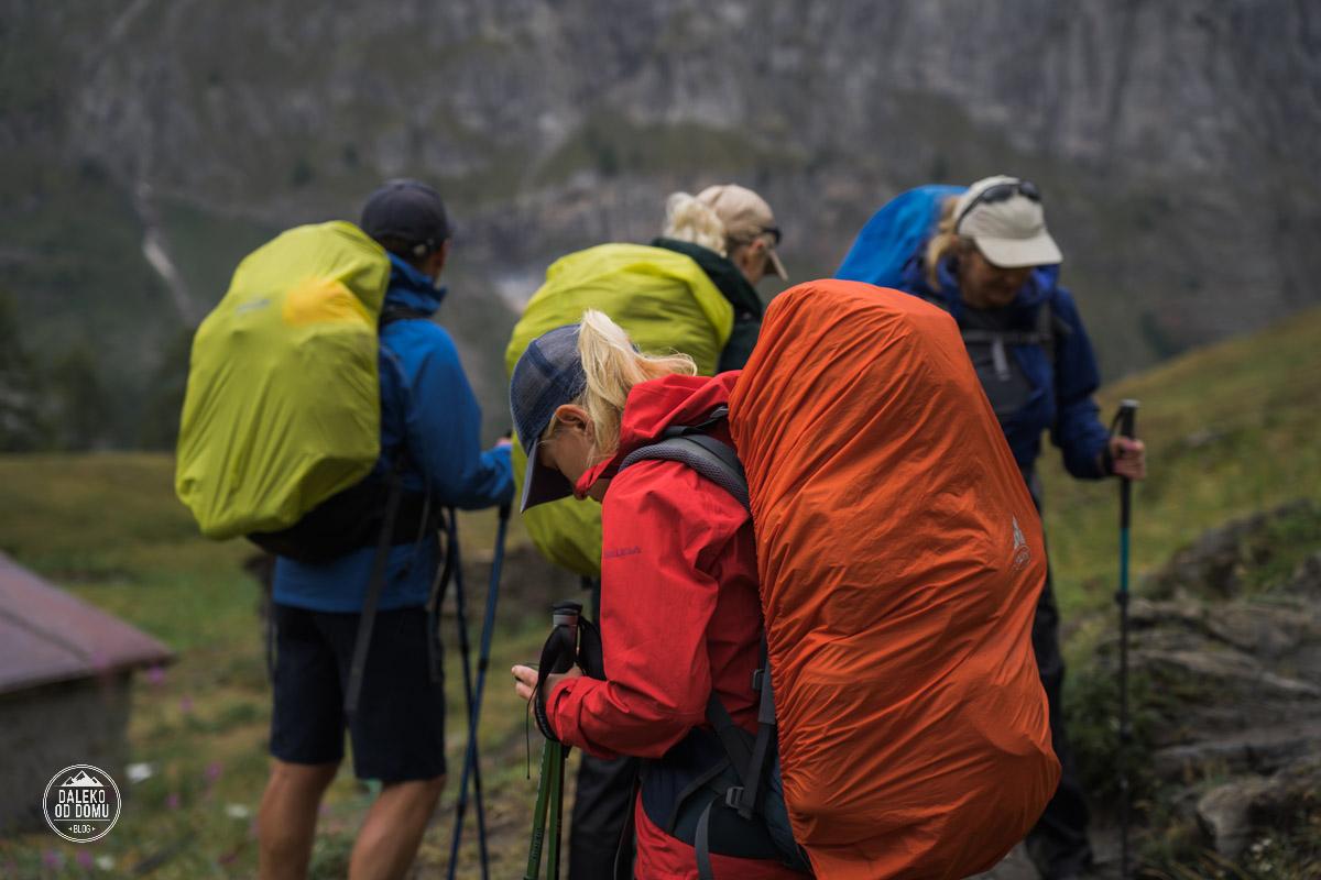 tour du mont blanc trekking tmb 2018 plecak na wędrówkę