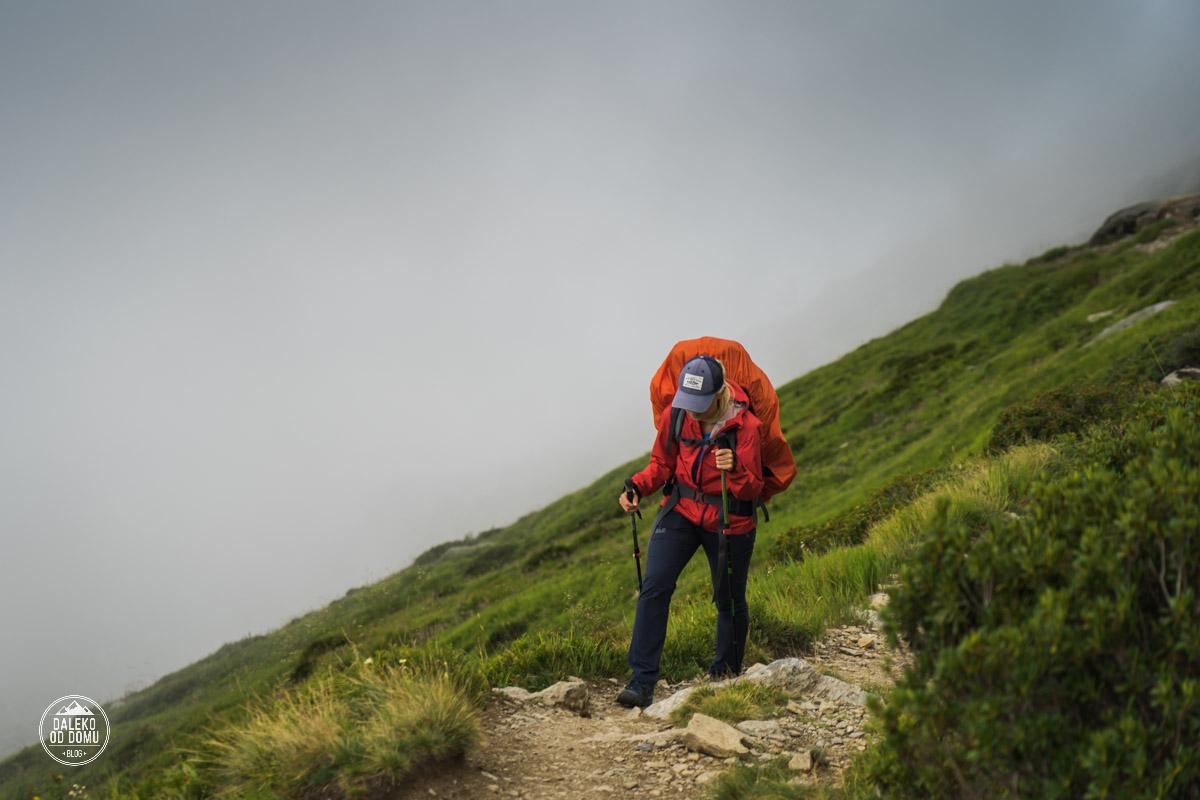 tour du mont blanc trekking tmb 2018 podejście na le brevent dzień 9